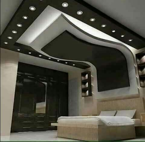 Modern Bed Gypsum Board Design Bedroom False Ceiling Design Ceiling Design Bedroom Ceiling Design Modern
