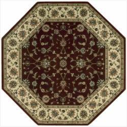 Nourison Persian Arts Traditional Burgundy Area Rug (5'3