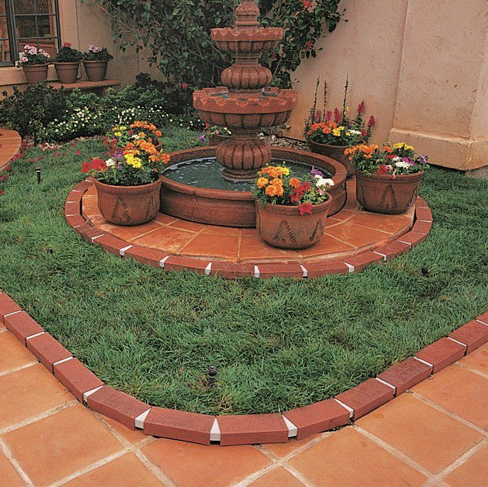 Love This Decorative Plastic Brick Edging Perfect For My Walkway Walkway Brick Garden Affiliate Brick Edging Backyard Garden Design Garden Design