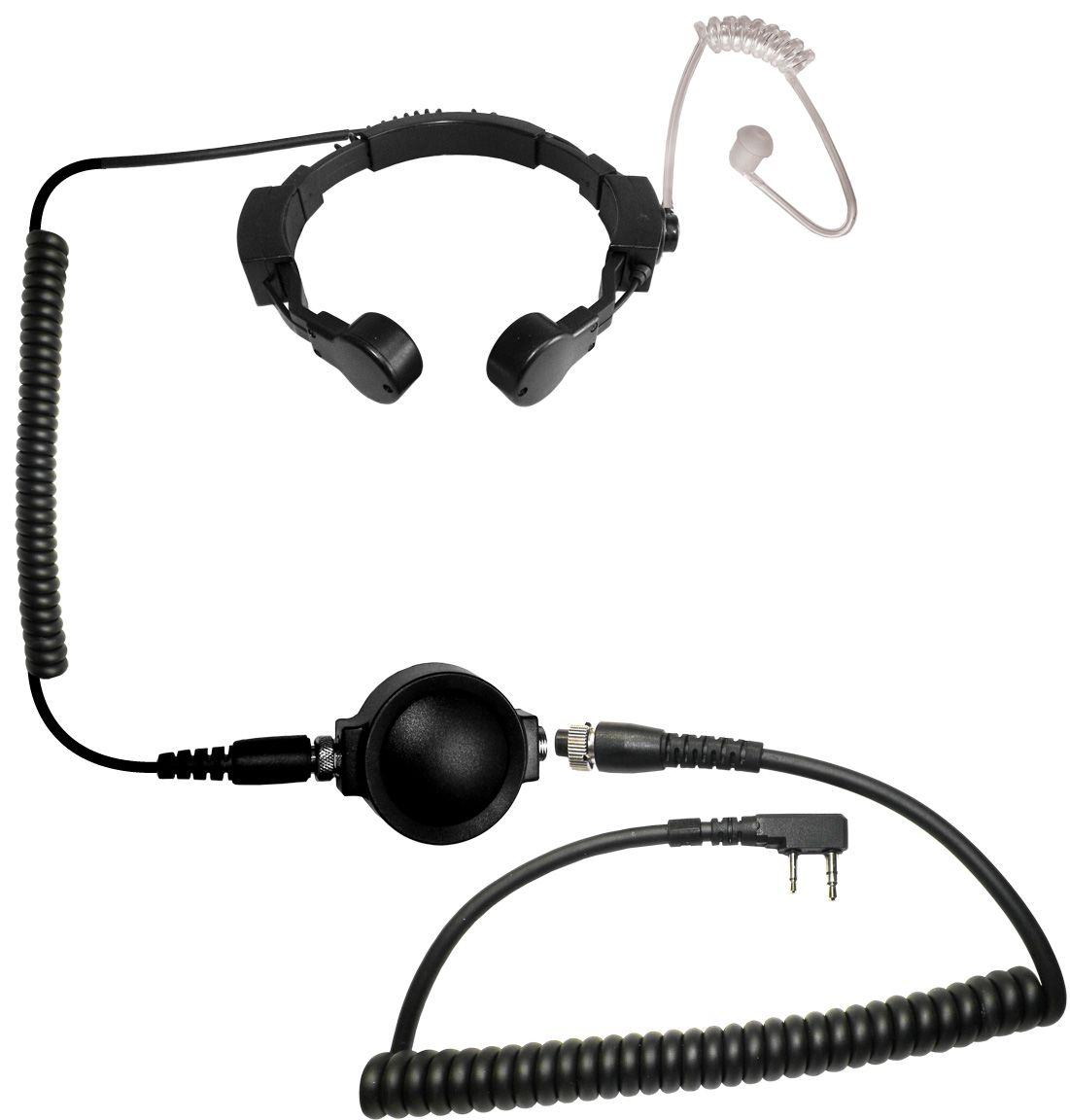 Code Red Headsets Assault tactical throat microphone