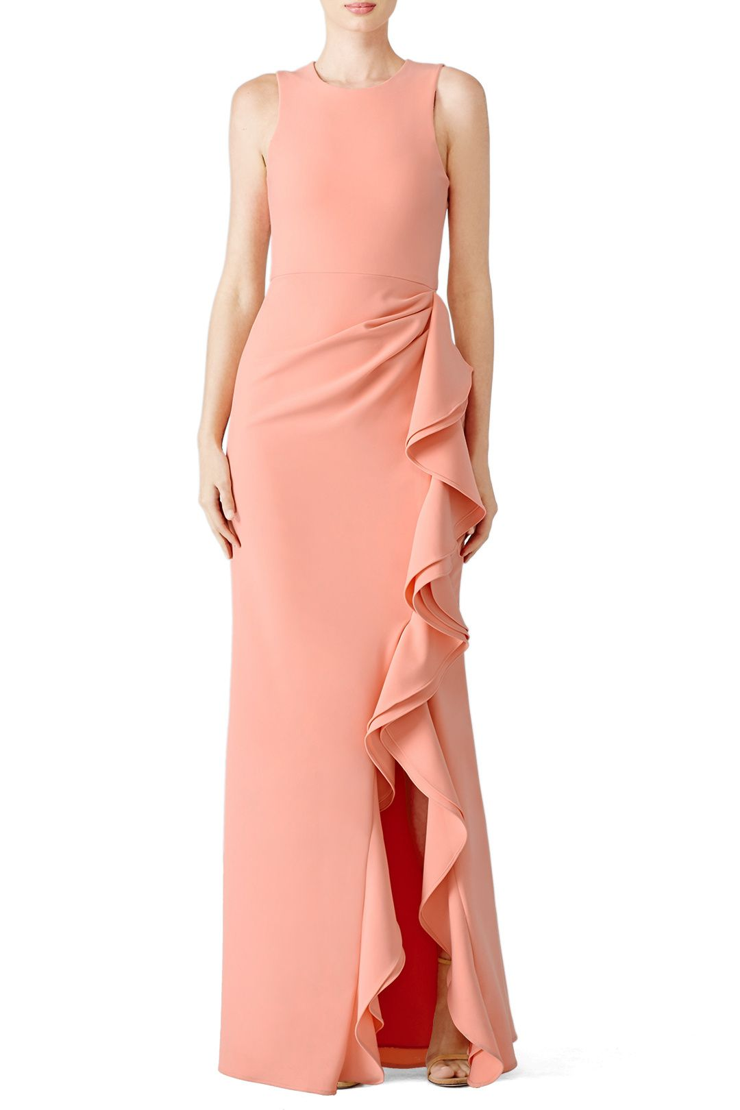 Rent Pink Madeline Gown by Parker for $40 - $70 only at Rent the ...