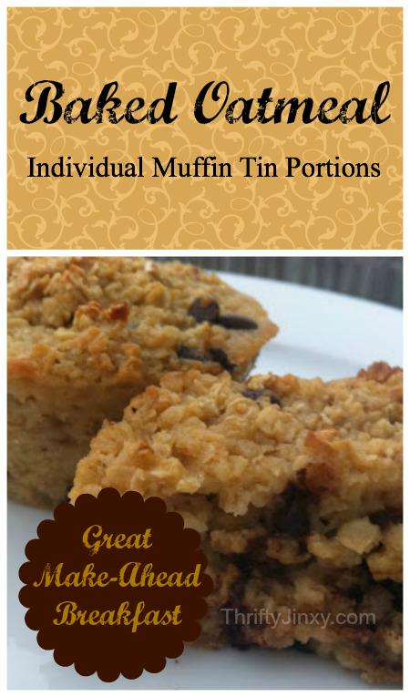 Easy Baked Oatmeal Recipe – Great Make Ahead Breakfast
