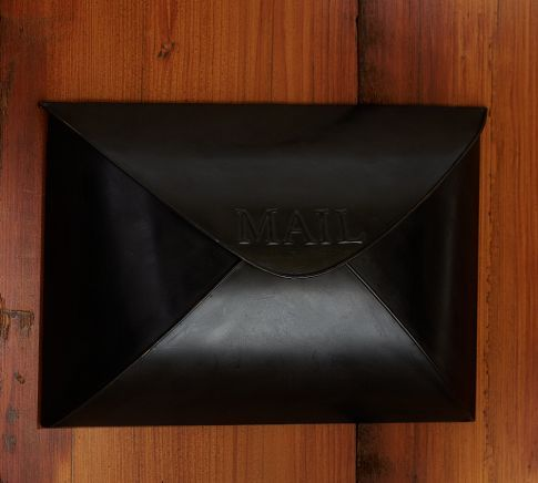 envelope mailbox antique bronze