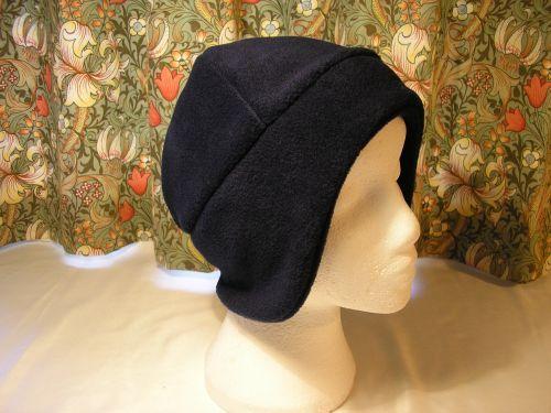 51fd3ae9e94 Navy Blue Fleece Ladies Ski Hat
