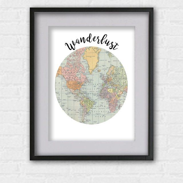 do you love travelling why not say it with a print our new do you love travelling why not say it with a print our new wanderlust print is available in our etsy shop now link in profile wanderlust gumiabroncs Image collections