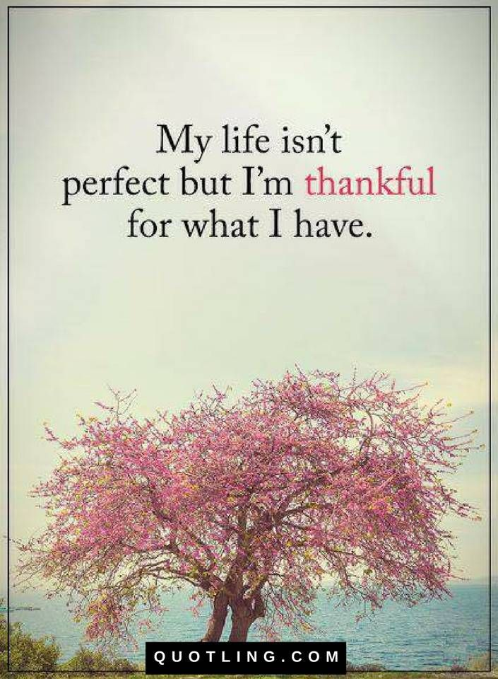 Quotes My Life Isn T Perfect But I Am Thankful For What I Have My Children Quotes Perfection Quotes My Life