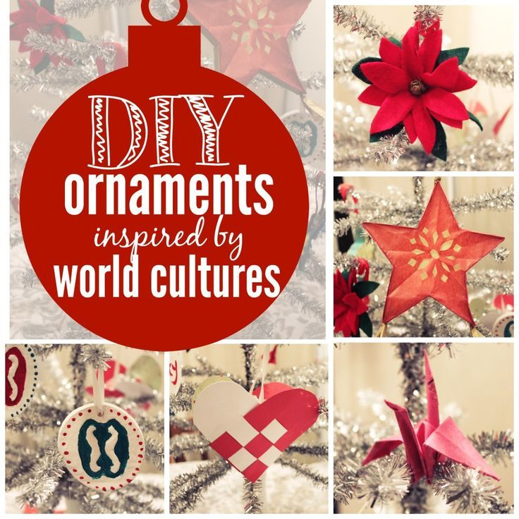 the office christmas ornaments. How To Make Five Diy Christmas Ornaments With Your Kids Inspired By Cultures Around The World: Denmark, Japan, Mexico, Ghana And Philippines Office