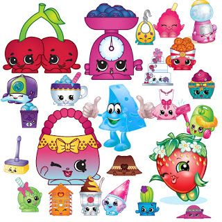 Shopkins birthday. Free clipart you can
