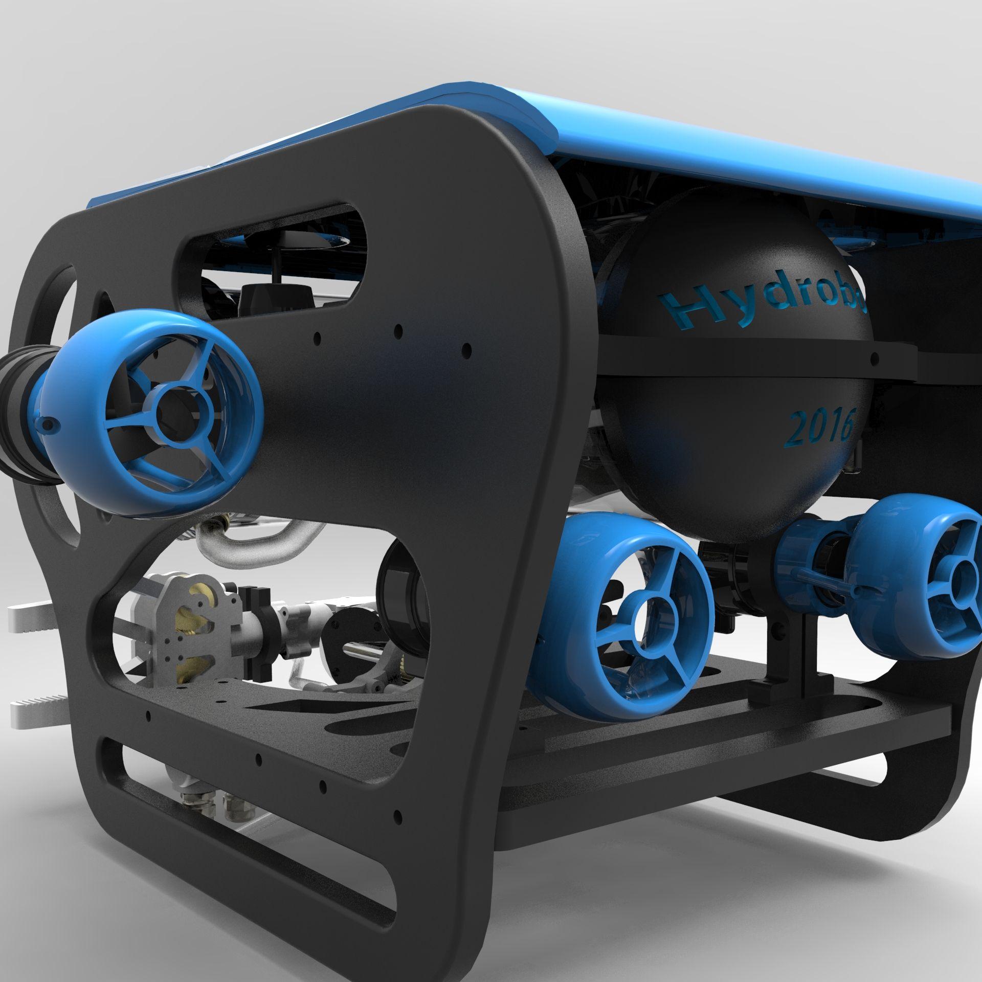 Hydra ROV robot Design | ROV in 2019 | Robot design, Robot