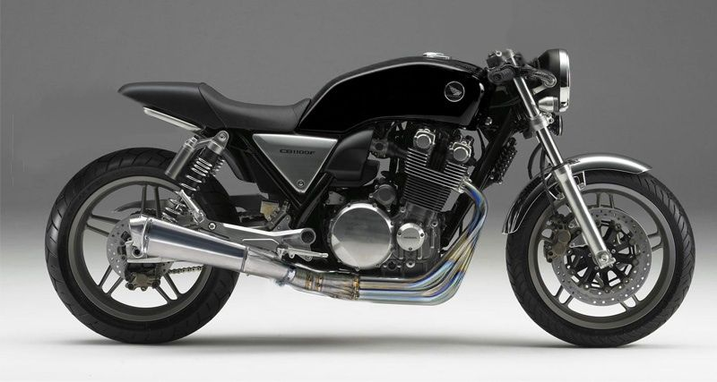 Honda Cb1100 Modified Into A Cafe Racer