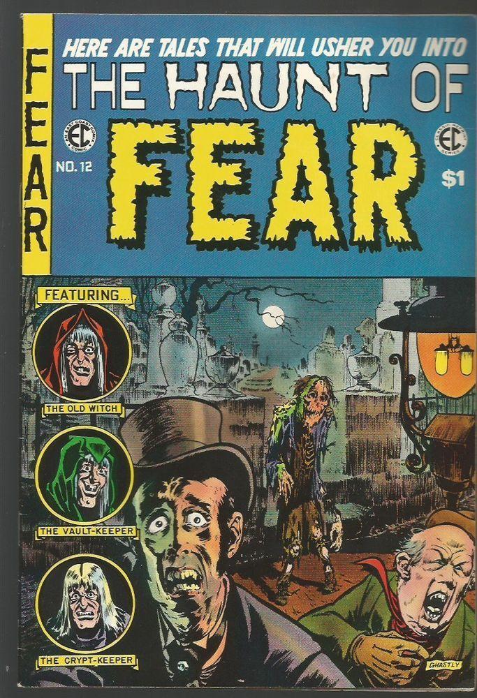 The Haunt of Fear #12 EC Classic Reprint #4 Comics East Coast 1973 Ghastly,Craig