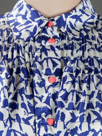 LABOUR OF LOVE - bird print dress 10