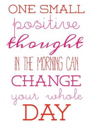 Happy Monday What Is Your Positive Thought Today