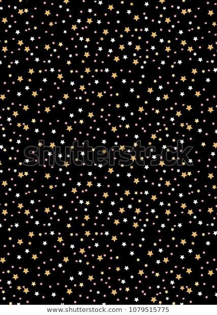 Pattern Star Dark Sky Vector Illustration Stock Illustration 1079515775 Vector Illustration Stock Illustration Dark Skies