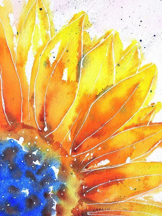 Painting On Wood Acrylic Flowers