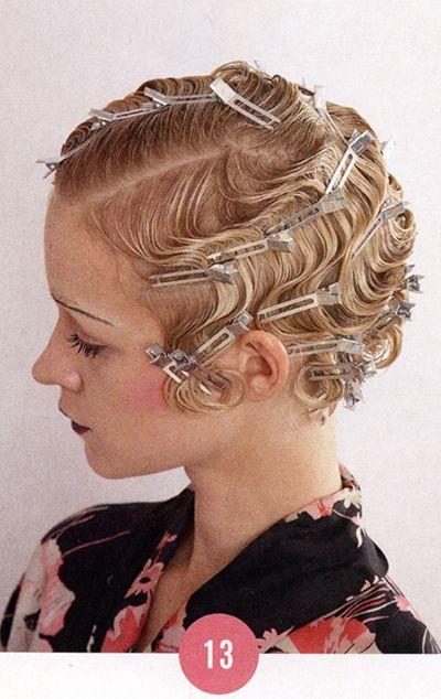58 New ideas vintage wedding 1920s finger waves | Flapper hair, Vintage hairstyles, Finger waves ...