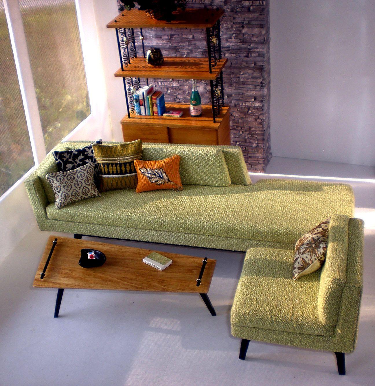 morrison's furniture studio 1:6 scale :) | muebles para