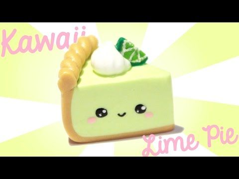 Key Lime Pie! - Kawaii Friday 165 polymer clay tutorial