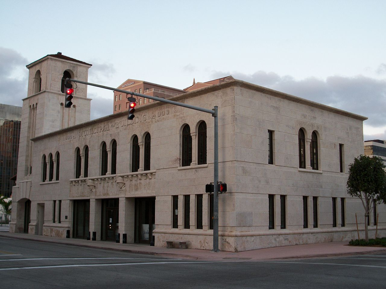 Coral Gables Police And Fire Station In Miami Dade County