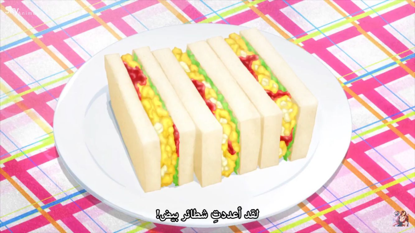 Sandwich eggs