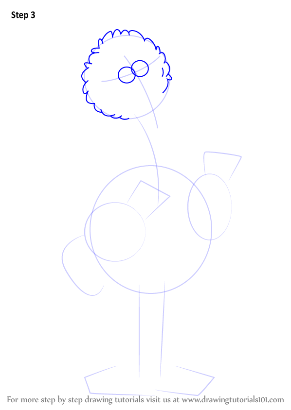 Learn How To Draw Big Bird From Sesame Street Sesame Street