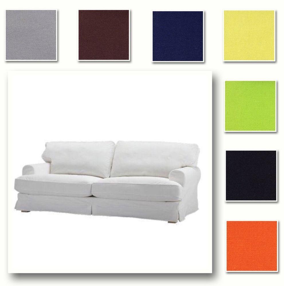 Ikea Ekeskog Fauteuil.Details About Custom Made Cover Fits Ikea Ekeskog Three Seat