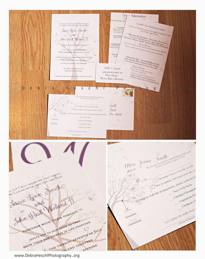 customized wedding stationary invitation rsvp card venue info