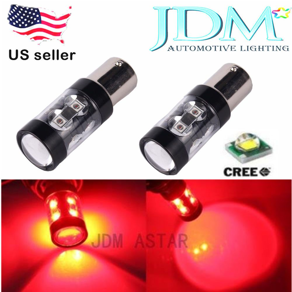 Jdm Astar Red 1156 Ba15s Cree Suv Car Rear Brake Tail Turn Signal Led Light Bulb Jdmastar Automotive Led Lights Led Light Bulb Led Replacement Bulbs