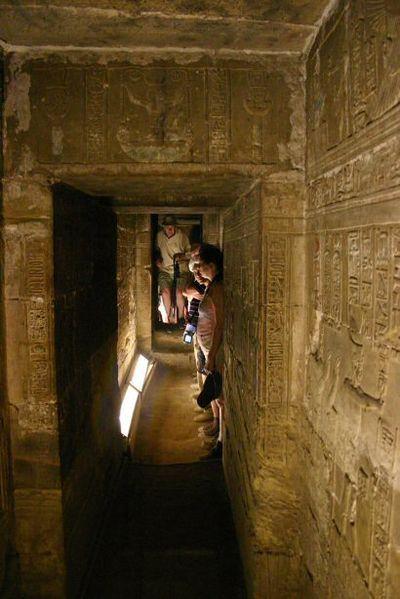 Temple d'Hathor - Denderah -  crypte