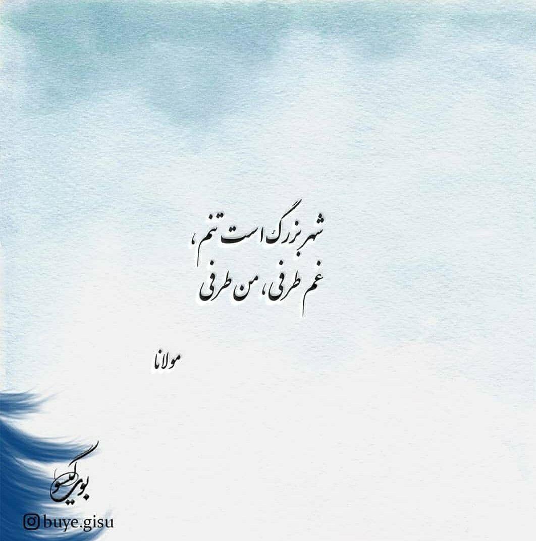 مولانا مولوی Persian Poem Calligraphy Persian Poem Farsi Poem