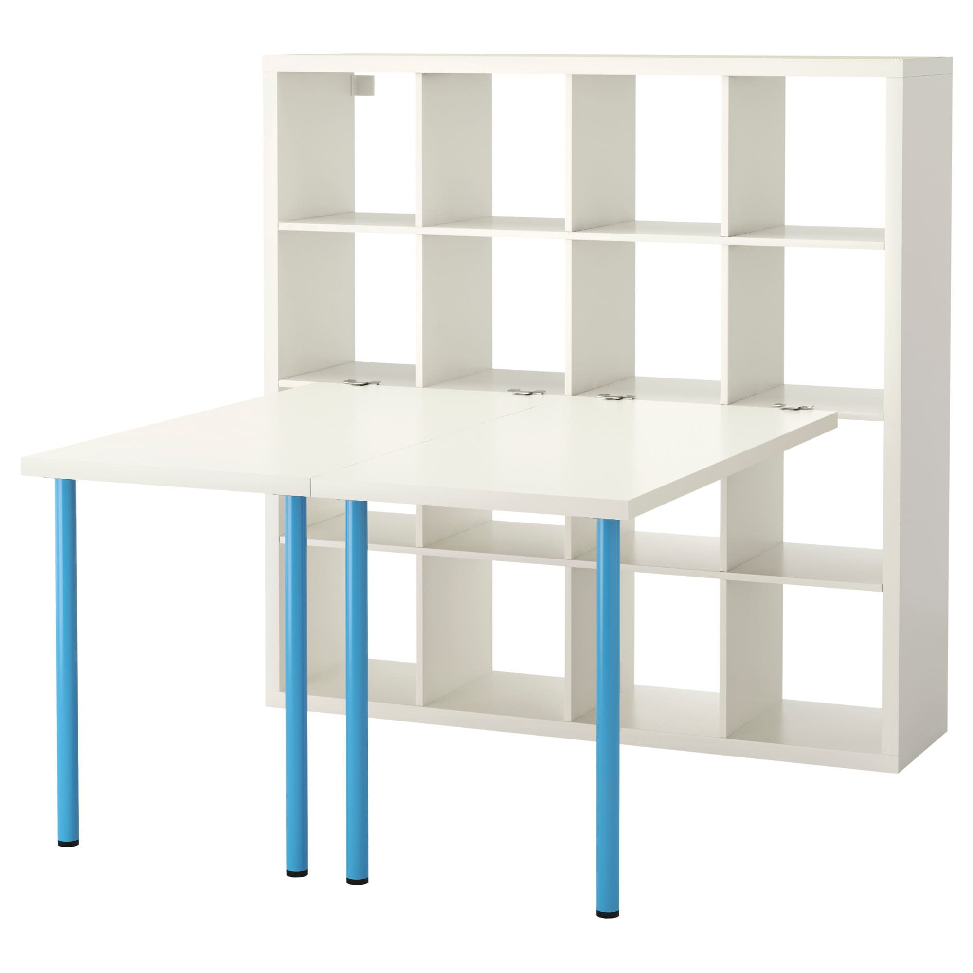 ikea regal kallax blau