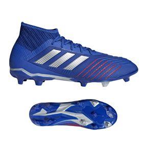 de12c6120 adidas Predator 19.2 FG Soccer Shoes (Bold Blue/Silver) | Newest ...
