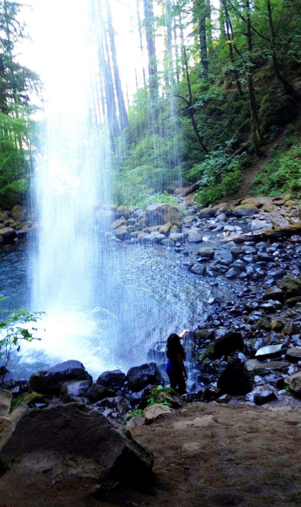peaceful ideas waterfall showers. OMG on my bucket list to shower here  Peaceful Good Idea Pinterest