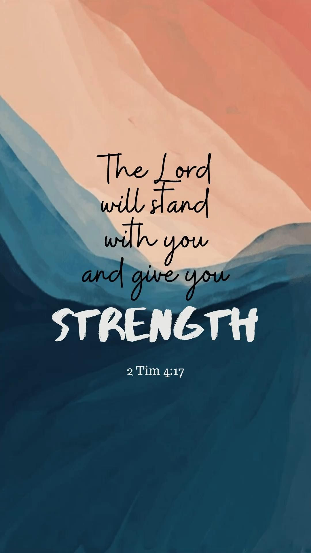 God is always with you to give you strength along the way:)
