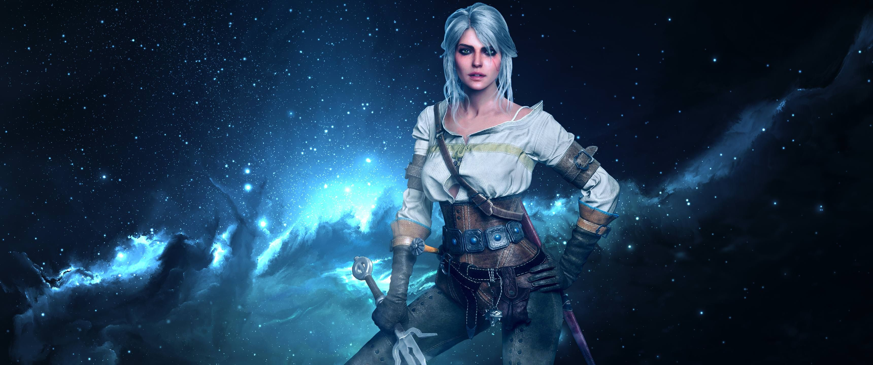 Cirilla another world Wallpaper [3440x1440] TheWitcher3