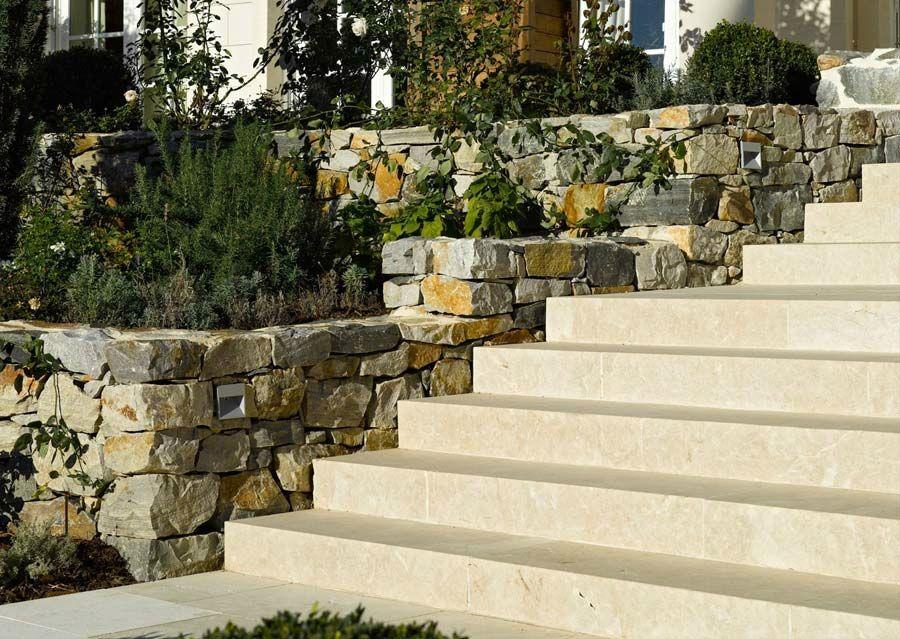 Steintreppe Garten steintreppen aussen schubert naturstein fachadas