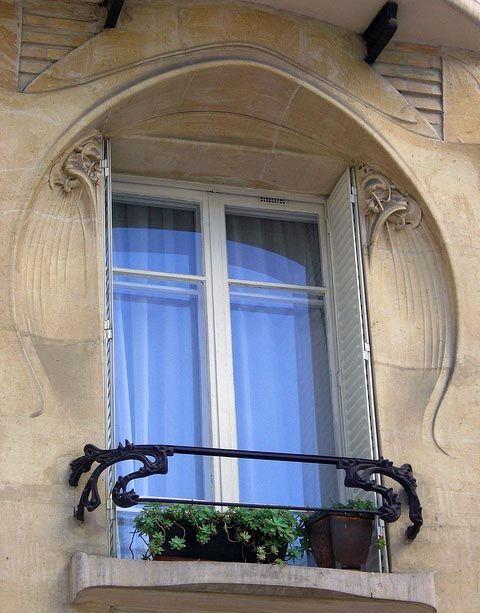 Art Nouveau - Immeuble Jassédé - 142 Avenue de Versailles - Paris - Hector Guimard - 1903-05