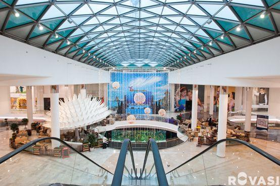 Ocean Plaza Shopping Mall Kiev Ukraine Architects Chapman