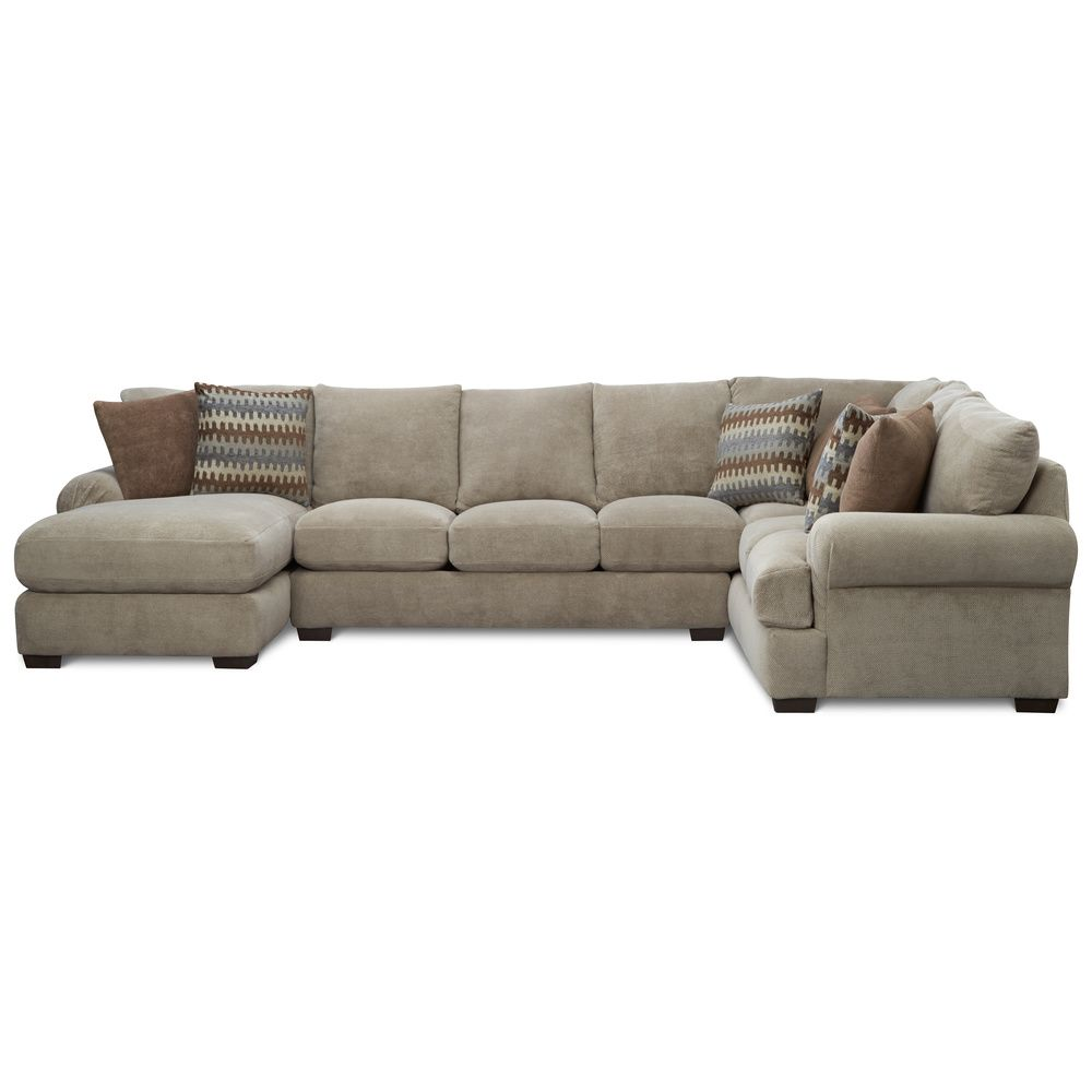 Art Van Jasper 3 Piece Sectional - Overstock™ Shopping - Big Discounts on Art Van Furniture Sectional Sofas