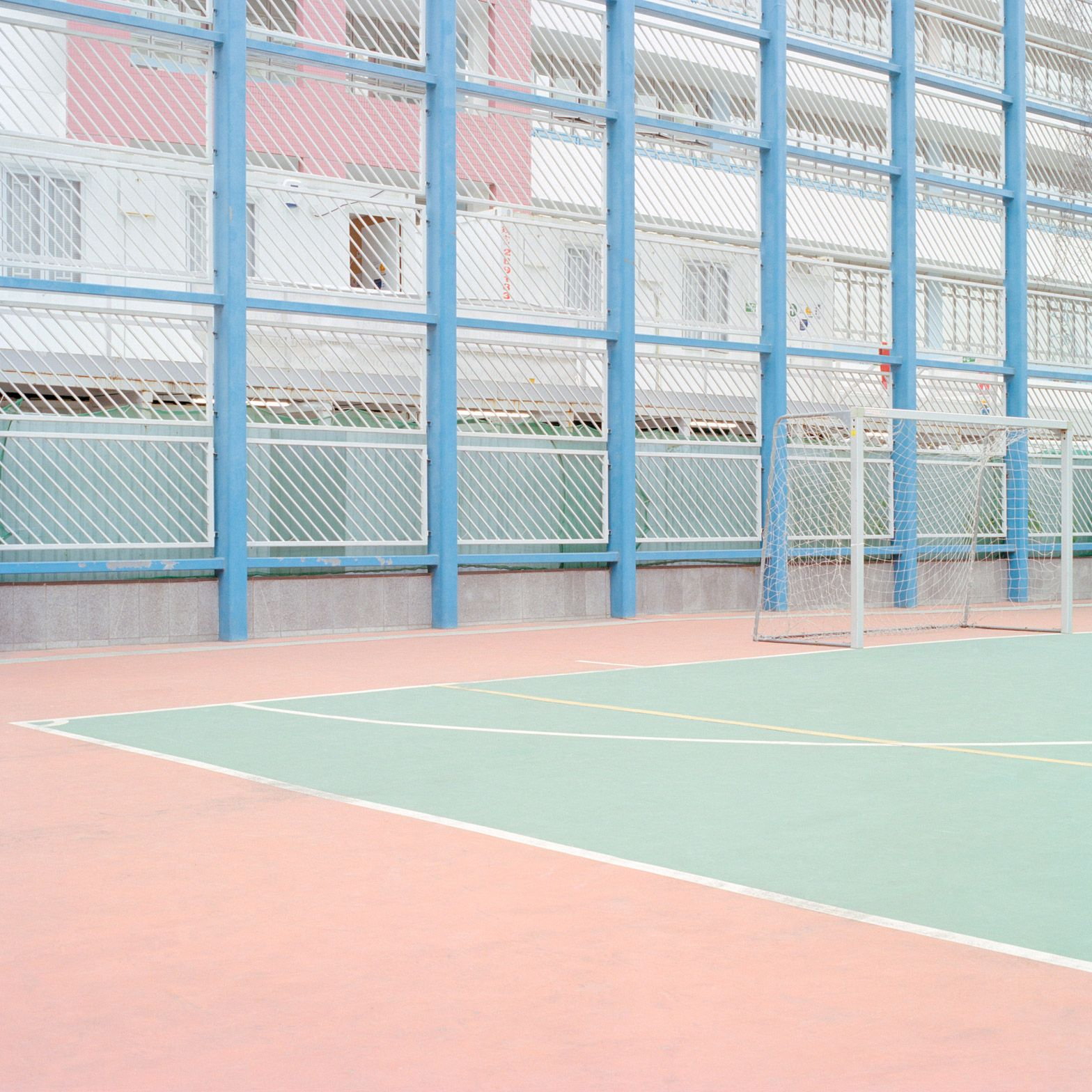 Ward Roberts Captures The Colours Of Basketball Courts
