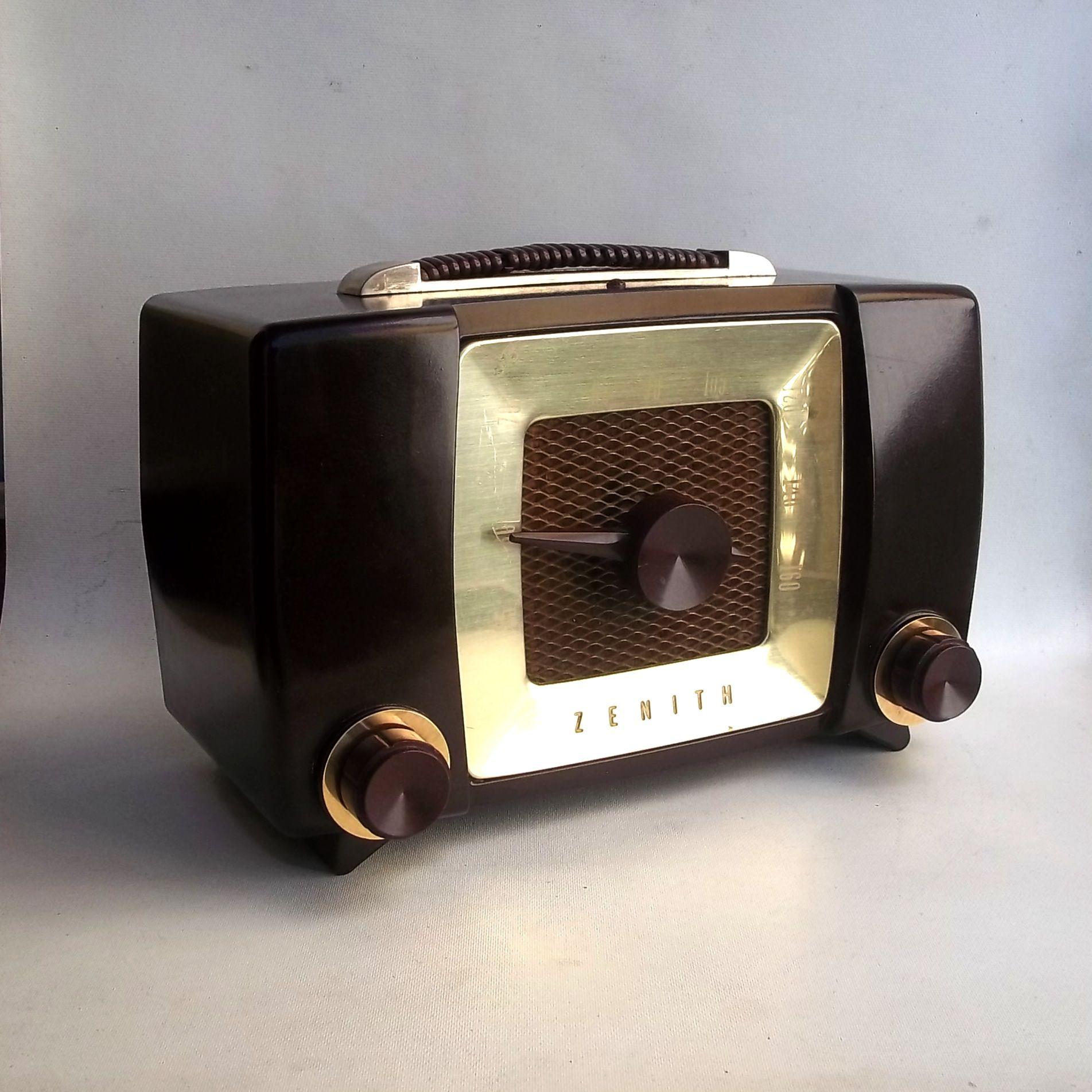 Rádio Zenith H615 #Backelite