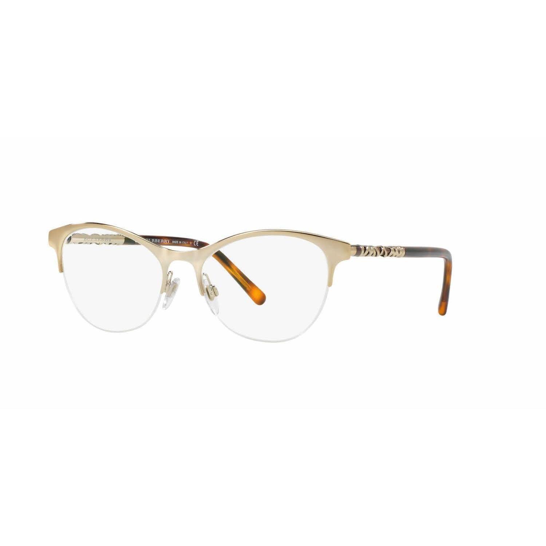 2d93317a01 Burberry Womens BE1298 1145 Cat Eye Eyeglasses