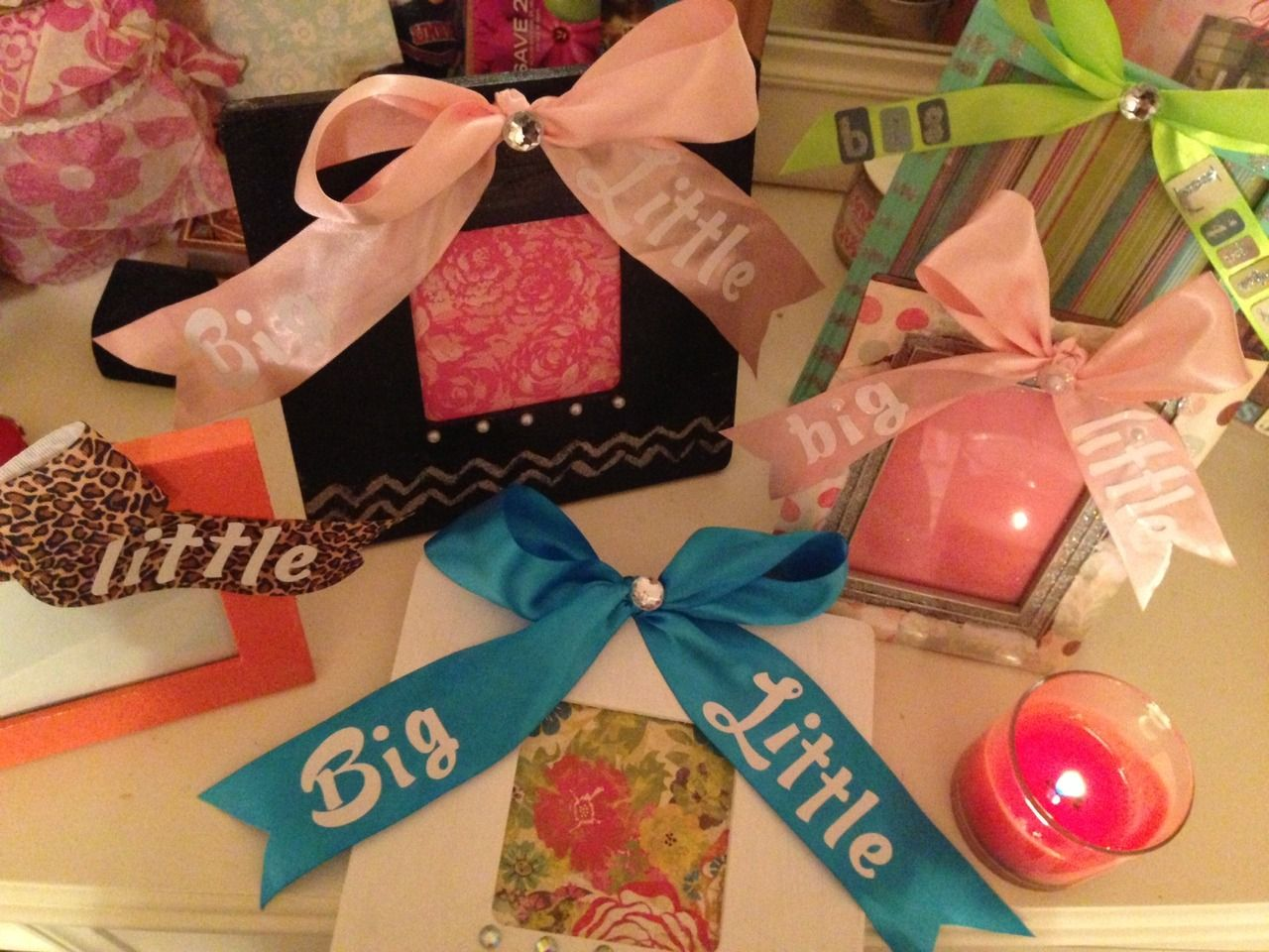 lots and lots of big/little gifties | The First. Finest. Forever ...