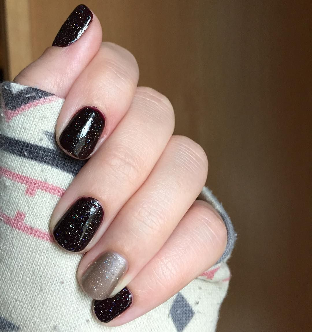 Jamberry Vamp with Antique accent. Jamberry Nail Lacquer, love it ...