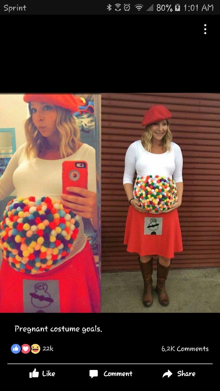 a5c2bec11c744 Halloween costume idea for pregnant woman | Halloween | Pregnant ...