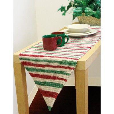 Table Runner to Crochet - Patterns | Yarnspirations | Holiday ...