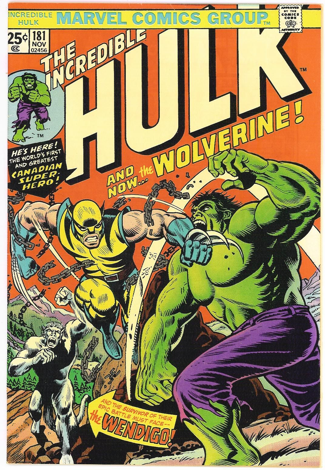 Incredible Hulk 181 First Appearance Of Wolverine