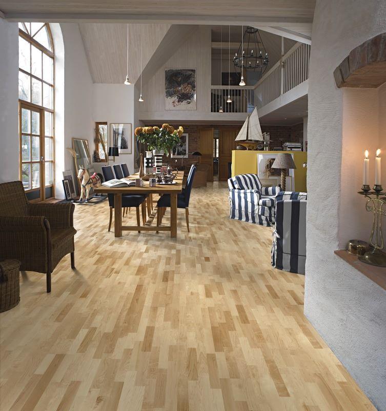 Le #parquet dans le #salon  un classique indémodable Découvrez - Salle A Manger Parquet