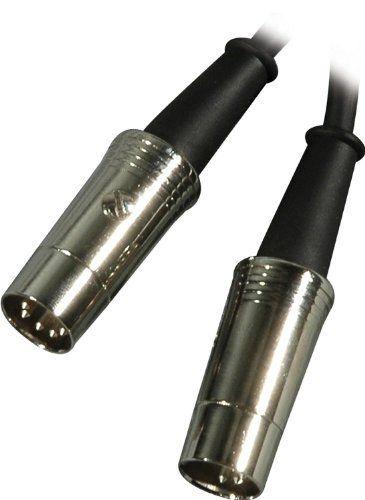 HOSA PREMIUM MIDI CABLE - MIDI CABLE, Metal Plugs, 3 ft  by