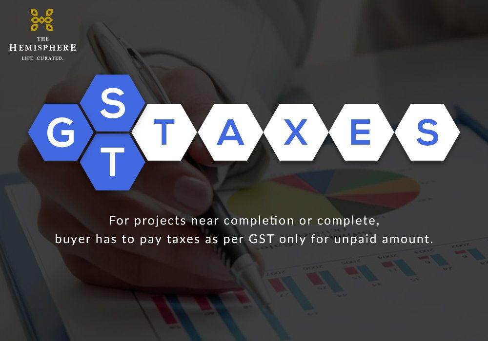 Gst On Property For Projects Near Completion Or Complete Buyer Has To Pay Taxes As Per Gst Only For Unpaid A Paying Taxes How To Plan Real Estate News